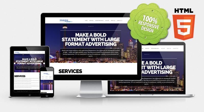 Website for Megaposter