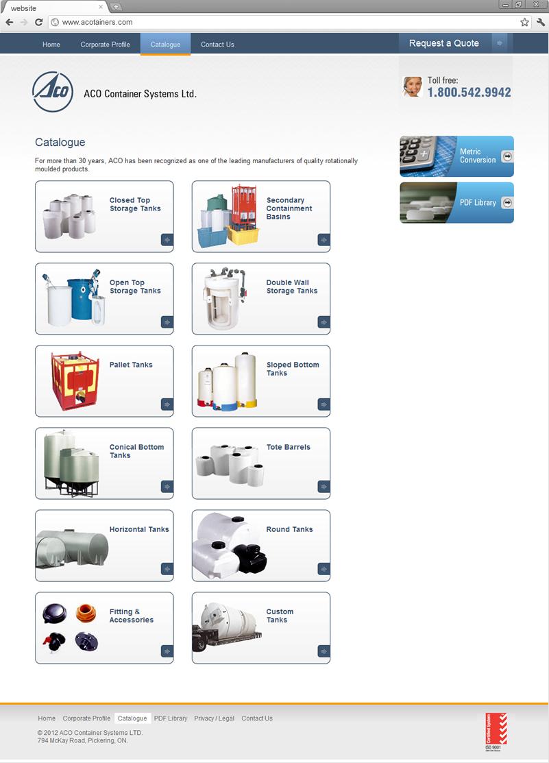 Catalogue page